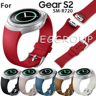 Newest Replacement Silicone Wrist Band Strap For Samsung Galaxy Gear S2 SM-R720