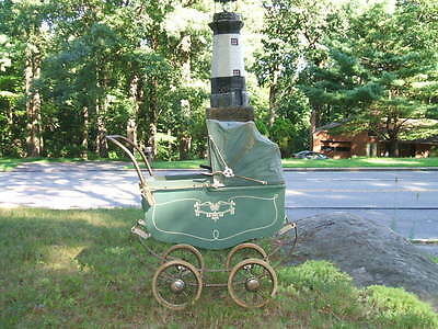 Antique  Thayer Model M 101 Baby Carriage Baby Buggy,Baby Stroller.Doll Stroller