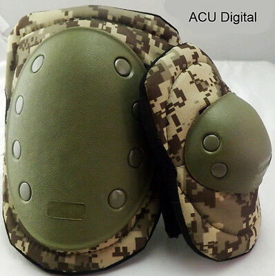 Military Tactical Army Paintball Combat Skate Protection Elbow Knee Pads