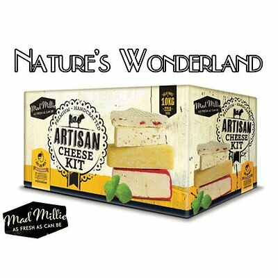 ARTISAN CHEESE KIT - Mad Millie - Ultimate kit to create homemade Fresh Cheese