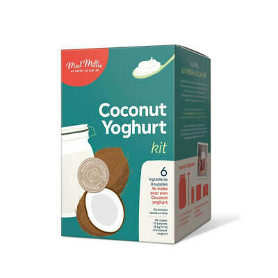 COCONUT YOGHURT KIT - Mad Millie - Homemade Probiotic Culture & includes RECIPES