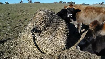 Slow Feed Hay Net for 4x4 Round Bales - GutzBusta