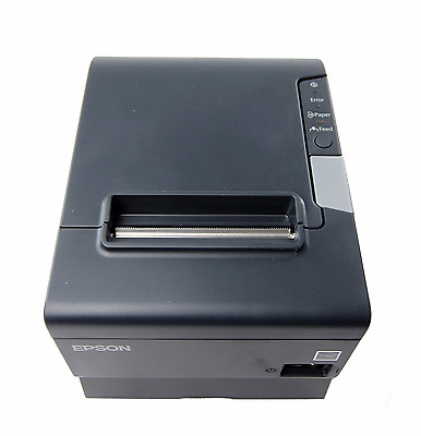 Epson M244A TM-T88V POS Thermal Receipt Printer With AC Power Supply,WARRANTY