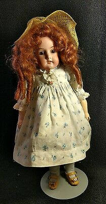 """Armand Marseille doll 13 1/2"""" 370 Bisque head  missing fingers"""