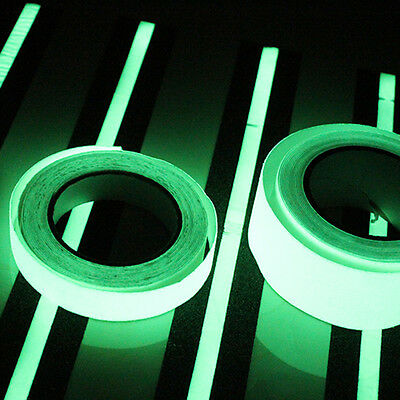 10M Luminous Tape Self-adhesive Glow In The Dark Safety Stage Home Decoration 7C