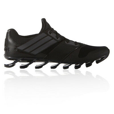 Adidas Springblade Solyce Mens Black Cushioned Running Road Shoes Trainers