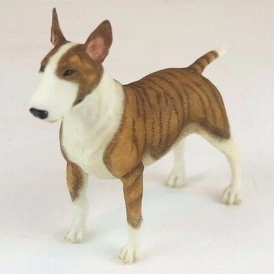 "Bull Terrier Dog - Collectible Figurine Miniature 5.5""L New in box"