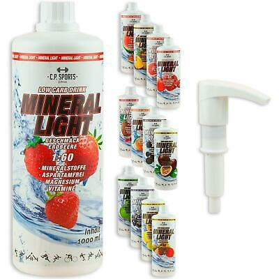 Low Carb Drink Mineral Light Drink Elektrlyte Vital Getränk Konzentrat Sirup Gym