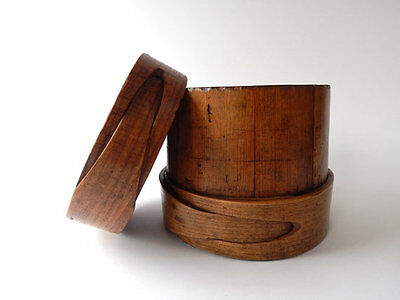 Antique Wood Cheese Mould from Hungary