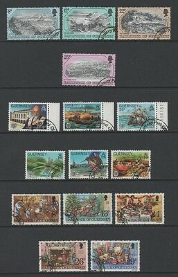 Guernsey 1982 Lovely Collection Of 5 Commemorative Sets *fine Cto*
