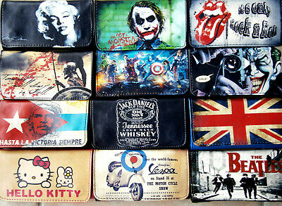 Tobacco Pouch Case Wallet Butterfly Joker  Ace Guitar Marijuana Gameboy