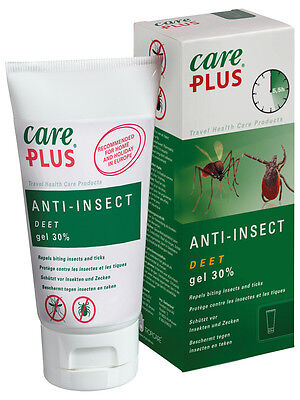 Care Plus 32922 30% Deet Anti Insect & Mosquito Repellent Gel 80Ml