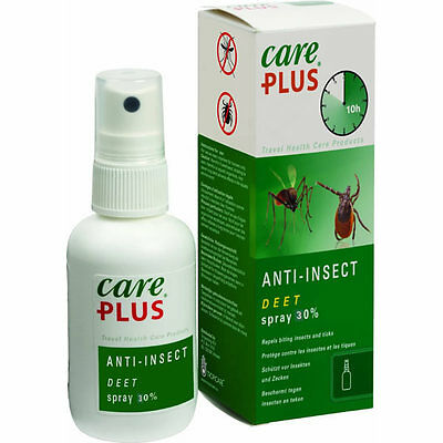 Care Plus 32968 30% Deet Anti Insect & Mosquito Repellent Spray 60Ml