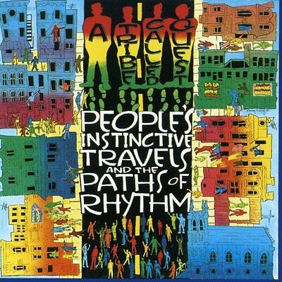 A TRIBE CALLED QUEST People's Instinctive Travels & The Paths 2 LP SET(24FEB)NEW