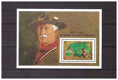s14390) GRENADA 1988 MNH** Scout S/S