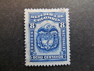 A3P25 Colombia 1926-29 8c used #58