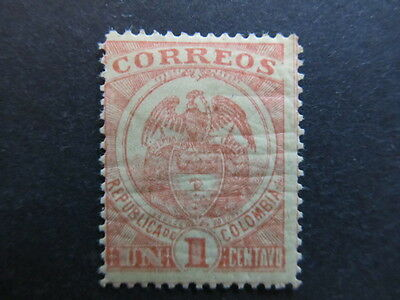 A3P25 Colombia 1899 1c mh* #39