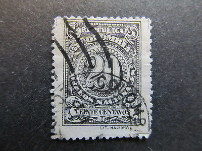 A3P25 Colombia 1908 20c Perf. 13 1/2 used #53