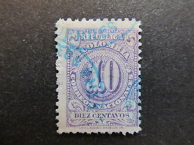 A3P25 Colombia 1904 10c Perf. 12 used #70