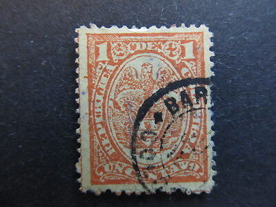 A3P25 Colombia 1892-99 1c used #36