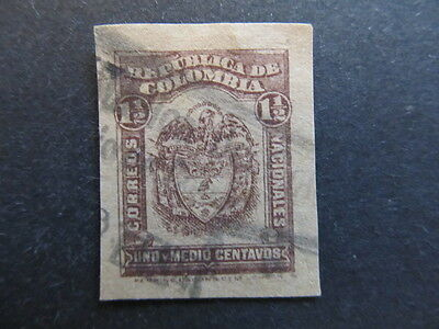 A3P25 Colombia 1923-24 1 1/2c used #65