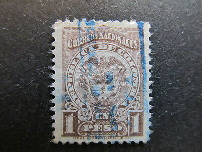 A3P25 Colombia 1904 1p used #66