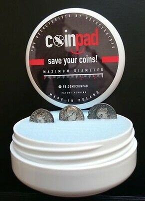 5 X Coinpad 35MM Deep - Metal Detecting - Detecnicks