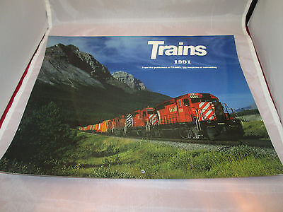 Trains 1991 Calendar by Trains, the magazine of Railroading
