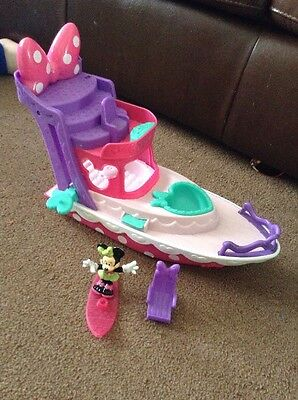 Minnie Mouse boat & Accessories