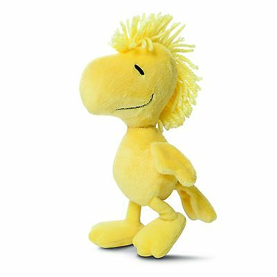 """Aurora World 7.5"""" Peanuts Soft Plush Toy WOODSTOCK From Snoopy"""