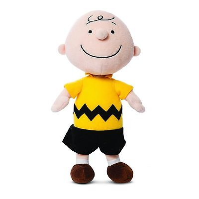"""Aurora World 10"""" Peanuts Soft Toy CHARLIE BROWN Doll From Snoopy"""