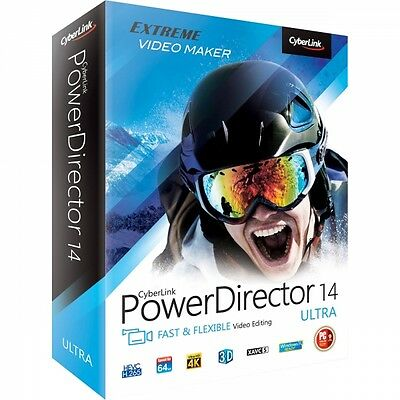 Cyberlink PowerDirector 14 Ultra Brand New