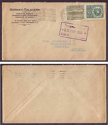 z2361/ Guatemala Cover to Germany 1928