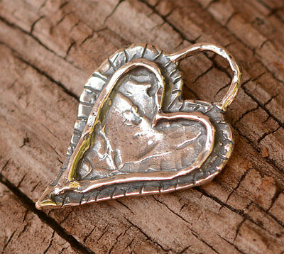 Forever in my Heart Charm in Sterling Silver, AD216, Cathy Dailey Charms