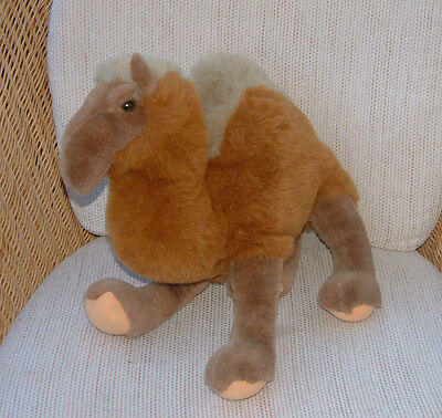 Large plush CAMEL one hump DROMEDARY - soft toy animal