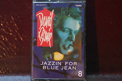 Rare David Bowie Jazzin for Blue Jean Video 8 Single 22 mins EX Emi America