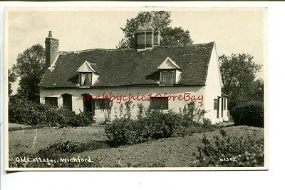 Old Cottages at WICKFORD   Essex  1900s  Real Photo POSTCARD