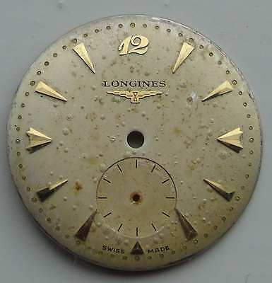Vintage Longines wrist watch dial reasonable condition