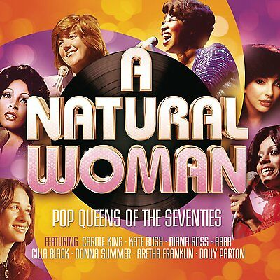 NEW SEALED 3 CD SET A NATURAL WOMAN HITS OF THE SEVENTIES / 70's ** ORIGINALS **
