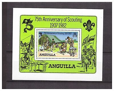 s14426) ANGUILLA 1982 MNH** Scout S/S