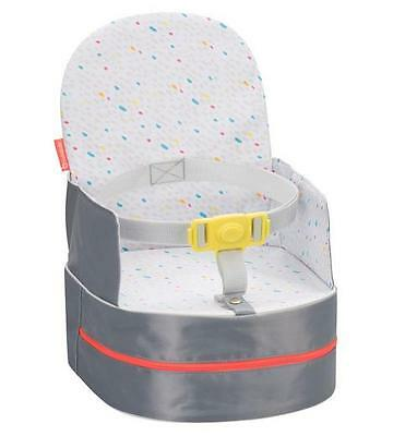 Brand new in box Badabulle travel booster seat from 9 months+ in grey