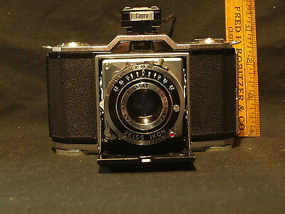 Vintage Zeiss Ikonta Folding Film Camera 35Mm With Case