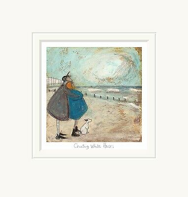Counting White Horses - New Limited Edition Art Print By Sam Toft