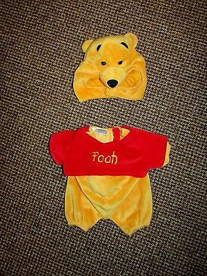 'build A Bear' Disney Winnie The Pooh Fancy Dress Outfit / Costume * Vgc