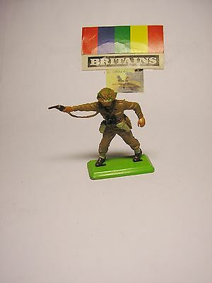 Soldatino Toy Soldier Britains 1971 Ufficiale Inglese WW II scala 1:32