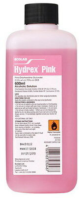 Hydrex Pink Surgical Scrub for Pre-Operative Hand & Skin Disinfection, 600ml