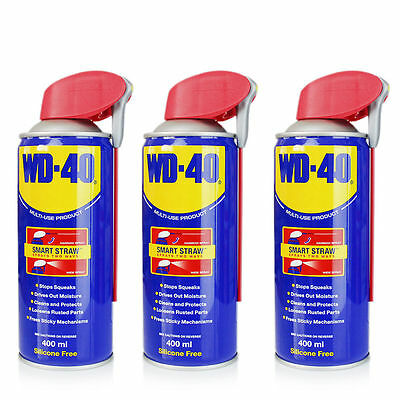 WD40 Smart Straw 3 Cans 400ml