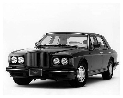 1990 Bentley Turbo R ORIGINAL Factory Photo ouc1442