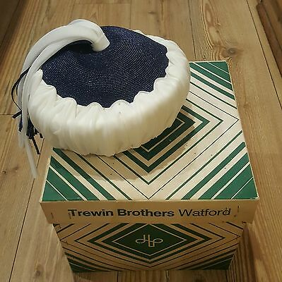 Vintage 1970's Womens Hat John Lewis Trewin Brothers Watford with Box
