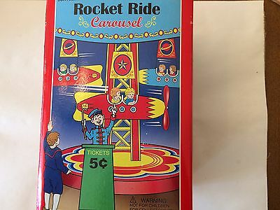 Schilling Rocket Ride Carousel. Collector Series